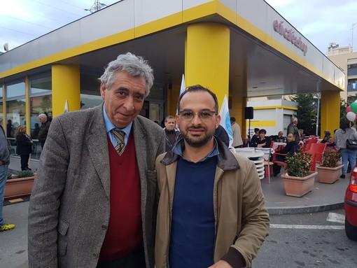 """Albenga, il dottor Basso si candida con Diego Distilo: """"Ho avuto modo di vedere come ha lavorato in amministrazione, per questo scelgo lui"""" (VIDEO)"""