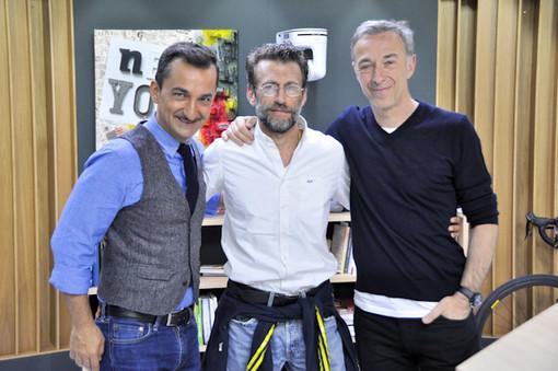 Marco Deambrogio è stato ospite anche a Radio Deejay