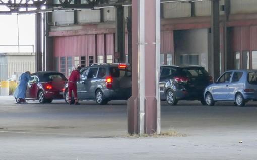 Quiliano, via ai tamponi drive through al mercato di Pilalunga