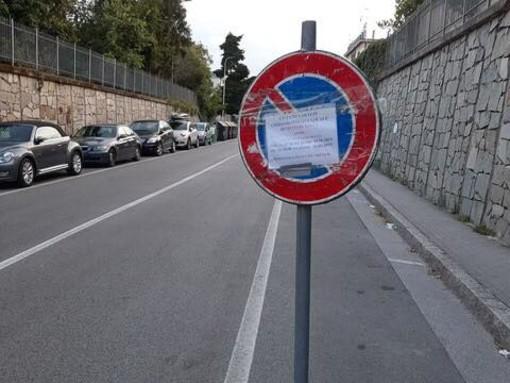 Demolizione cantieri Baglietto a Varazze, divieti di sosta nell'Aurelia Bis