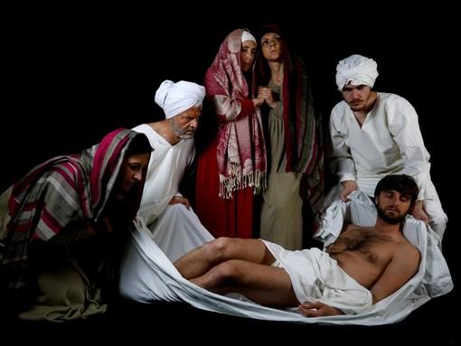 """A Laigueglia la rappresentazione teatrale """"Il Figlio dell'uomo-Sacra rappresentazione in forma d'arte"""""""