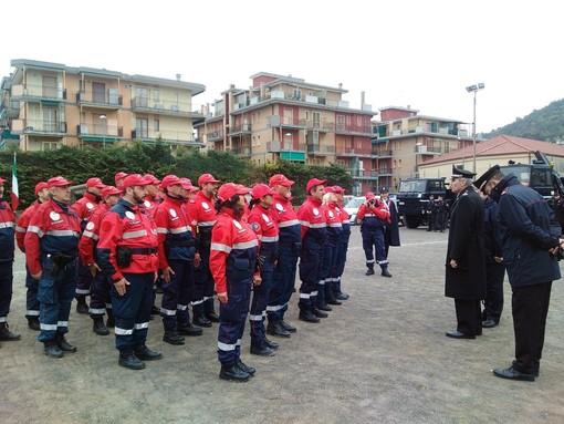"""Quando il Varatella straripa... Esercitazione del """"Reparto di Soccorso"""" dei carabinieri a Borghetto (FOTO e VIDEO)"""