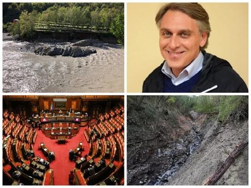 """Emergenza maltempo, Pieve di Teco: su 1 milione e mezzo di danni arrivati dal Governo solo 175 mila euro. Alessandri: """"È inaccettabile"""""""