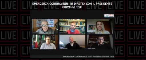 """Coronavirus, Toti in diretta con i giornali del nostro gruppo editoriale: """"Dopo Pasqua potrebbero esserci parziali riaperture"""" (VIDEO)"""