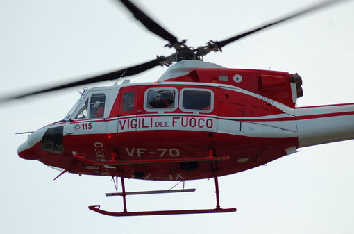 Roccavignale, incidente sulla Sp 28 bis: intervento dell'elisoccorso