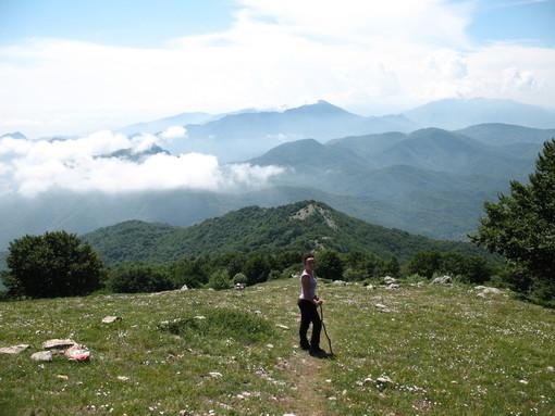 Loano:50°  dalla poca della Croce sul Monte Carmo