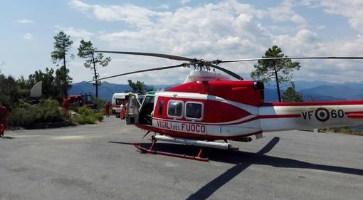 Cade dalla bici sulle alture di Finale Ligure: ragazzina di 11 anni trasportata in elicottero al Gaslini