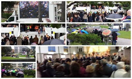 Andora: una folla immensa e commossa per l'ultimo saluto a don Rinaldo