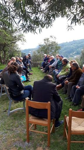 Finale Ligure, il sindaco uscente Frascherelli incontra i cittadini di Verzi