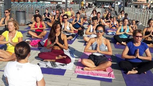 Alassio, un'estate di Free Yoga: yoga gratuito per tutti