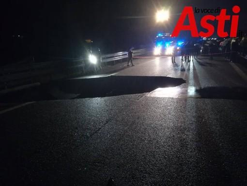 A21 Torino-Piacenza: alle 10 riapre l'autostrada interrotta nei pressi dello svincolo di Asti