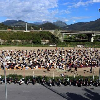 Bastia d'Albenga, la comunità islamica celebra la fine del Ramadan (FOTO)
