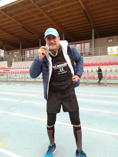 Andora: il consigliere comunale Simonetta alla Ultramaratona Milano-Sanremo 2018