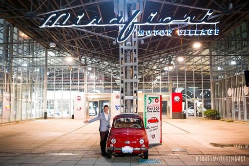 """Un """"ritorno a casa"""" per il Fiat 500 Club Italia di Garlenda con il raduno a Torino"""