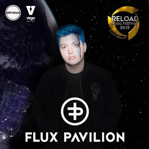 Flux Pavilion sul main stage del Reload Music Festival 2019
