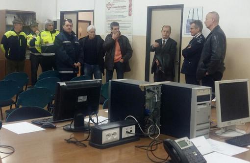 Visita al Centro Operativo Misto (COM) presso il Comando della Polizia Municipale del Comune di Savona