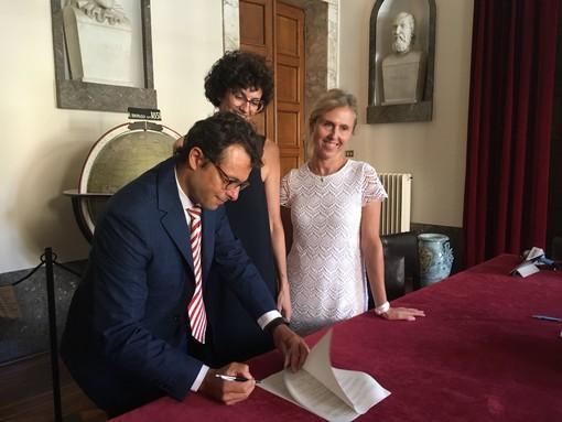 Savona, firmata la convenzione per la nuova sede della Banda Forzano