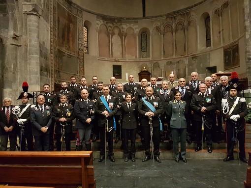 Virgo Fidelis, cattedrale di Albenga affollata per celebrare la santa patrona dell'Arma dei carabinieri