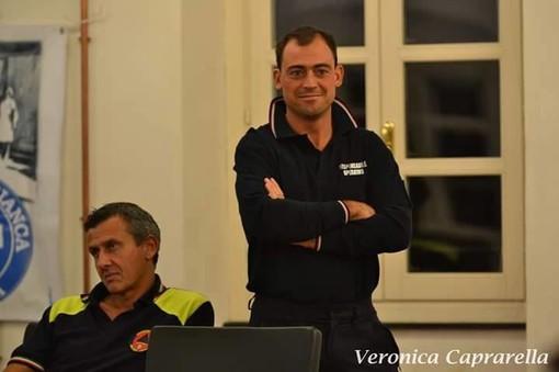 Fabio Curto responsabile della Protezione Civile di Andora lascia il mondo del volontariato e si candida con Demichelis