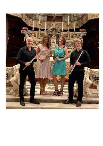 """I """"Giovani Flauti"""" dell'Accademia Musicale del Finale in concerto a Varigotti"""