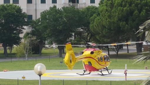 Bardineto, motociclista cade nella zona delle pale eoliche: un codice giallo a Pietra
