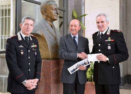 Dall'Arma dei Carabinieri 20 mila euro per l'ospedale Gaslini