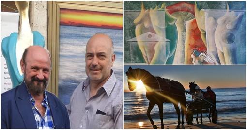 Giuliano Ottaviani e Tommy Marinelli: a Loano due artisti a confronto