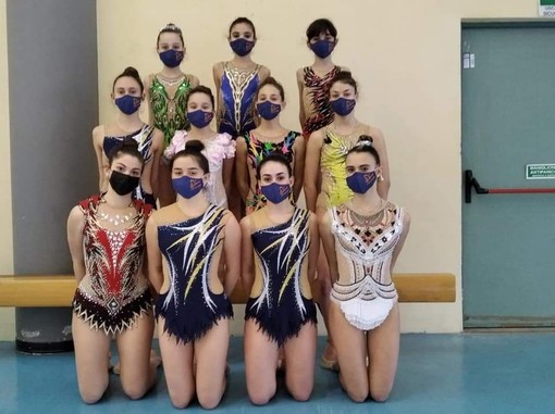 Risultati convincenti per le ragazze dell'Asd Ginnastica Libera Spotorno (FOTO)