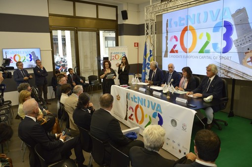 Genova si candida come Capitale Europea dello Sport 2023 (FOTO e VIDEO)