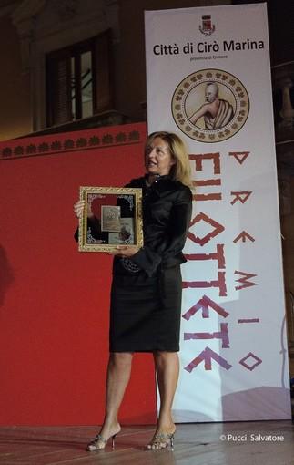 Premio Filottete, premiata anche una giornalista alassina: e' Grazia Pitorri