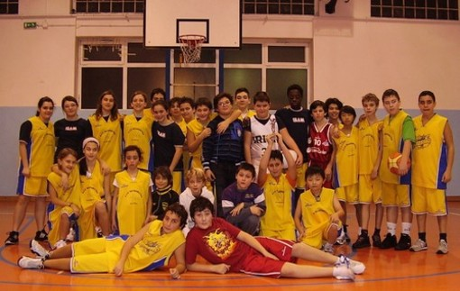 Basket, stagione al top per la Pallacanestro Alassio