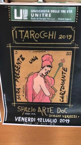 """Ennio Godani """"racconta i tarocchi"""" in arte a Borgio Verezzi"""
