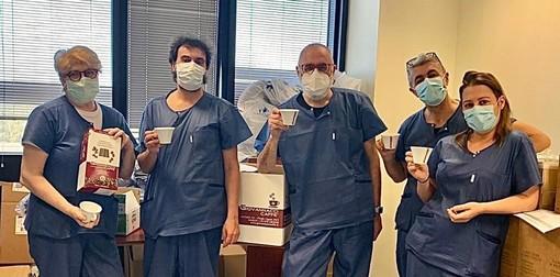 Giovannacci Caffè dona il suo caffè e le sue colombe pasquali agli Ospedali di Pietra Ligure e Albenga