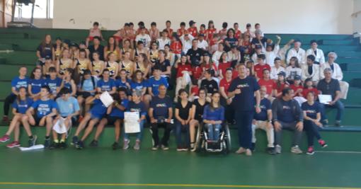 Nelle palestre dell'Istituto Comprensivo delle Albissole si è celebrata la XVI° giornata nazionale dello sport