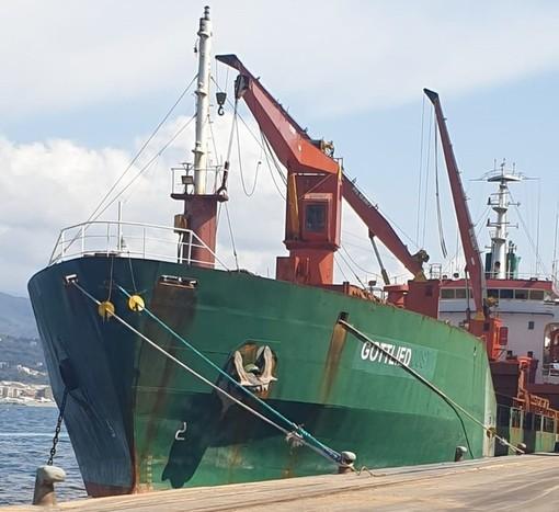 """Savona, dalla Capitaneria di Porto via libera alla nave """"Gottlied"""""""