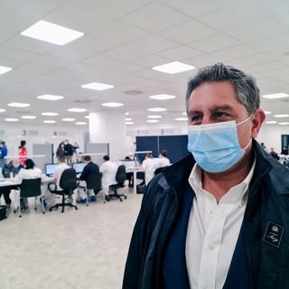"""Coronavirus, Toti: """"In Liguria il 99% dei ricoverati in terapia intensiva non è vaccinato"""""""