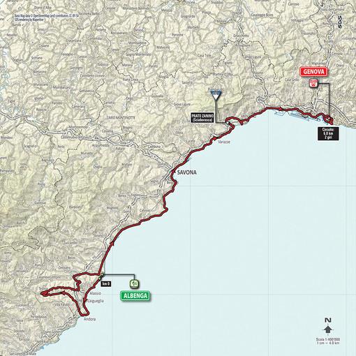 Albenga corre verso il Giro d'Italia