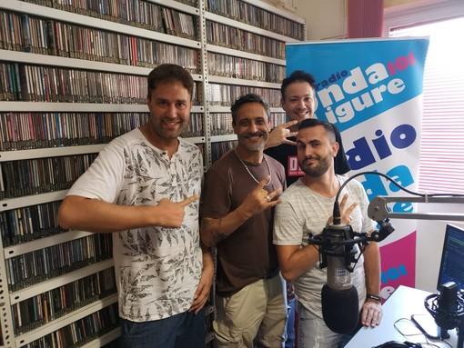 Albenga, il cantante Giorgio Vanni ospite di Radio Onda Ligure 101