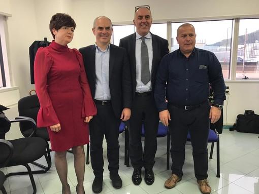 Albenga, inaugurata la nuova sede dell'INPS in regione Bagnoli