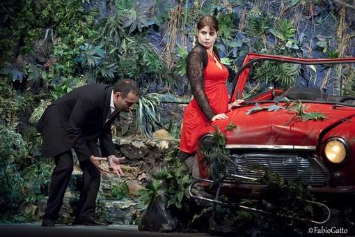Diego Ruiz e Fulvia Lorenzetti al Teatro Ambra per il secondo appuntamento di Albengateatro2015