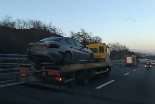 Incidente sulla A10 tra Spotorno e Savona: traffico in tilt