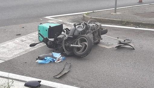 Brutto incidente in moto per Daniel Varaldo. Il portiere è stato ricoverato in codice rosso all'ospedale San Paolo di Savona