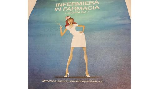 """Infermiera """"sexy"""" cartoon come spot: Opi Savona denuncia una farmacia"""