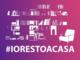#iorestoacasa: contro il contagio basta un piccolo gesto di responsabilità, inviateci le vostre foto