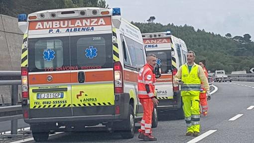 Incidente sull'Autostrada A10 tra Finale e Spotorno, code e rallentamenti