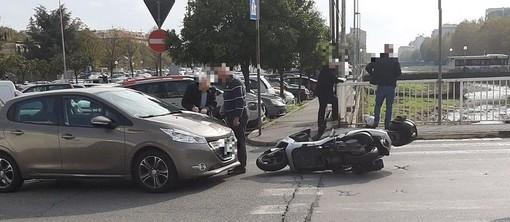 Savona, incidente tra via Trincee e il ponte sul Letimbro: nessun ferito, disagi alla circolazione