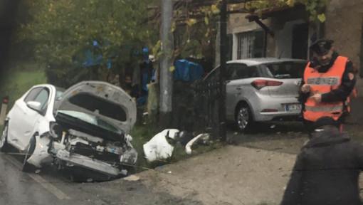 Incidente stradale lungo la Sp 28 bis tra Millesimo e Case Lidora: due feriti in codice giallo