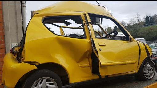 Incidente frontale tra due veicoli sul colle di Cadibona: un morto e un ferito