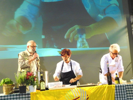Sagralea, un successo di pubblico il primo show cooking