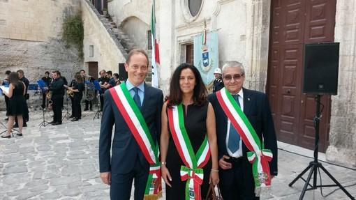 """Andora e l'Unione Valmerula e Montarosio a Matera all'assemblea nazionale """"Città dell'olio"""""""